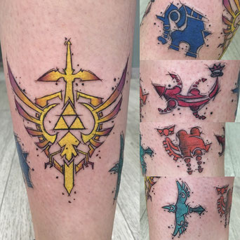 Tattoo videojuego Zelda