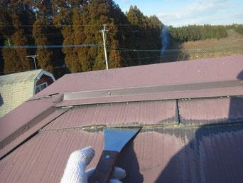 コロニアル屋根 縁切り 熊本