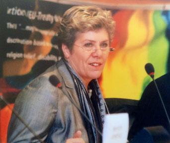 Bild: Foto: Konferenz gegen Homophobie Lissy Gröner