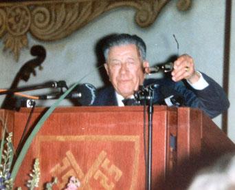 Bild: Foto: Ermächtigungsgesetz 1933, Josef Felder, MdR 1932-33, MdB 1957-69 Jubiläum