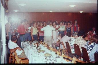 Bild: Foto:  Lissy Gröner, Israel Kibbuz,  Jugendfreizeit,  Holocaust, 1973, Kfar Ha Maccabi
