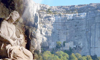 Ste Marie Madeleine et la grotte