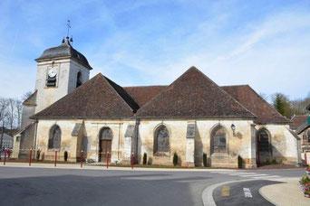 Eglise St Liébaut à Estissac