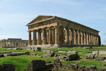 Paestum, veduta