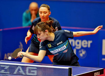 Foto Plohe Yui Hamamoto/Sofia Polcanova im Viertelfinale der Hongkong Open