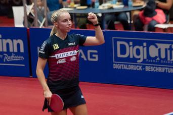 Linda Bergström - ein Fixpunkt im Linzer Team