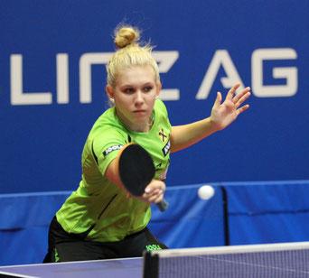Sophia Kellermann  Tischtennisspielerin LINZ AG Froschberg B- Team