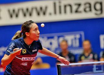 Foto Plohe - Minnie Soo - die auch in der kommenden Spielsaison für LINZ AG Froschberg spielen wird.