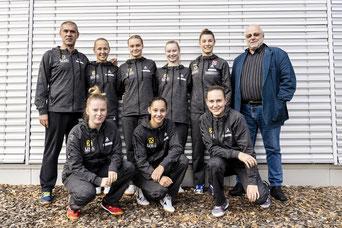 Foto Tobias Höfinger - Linzer Girls Armada beim Start zur Bundesliga 2020/2021