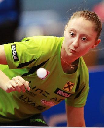 Sofia Polcanova Tischtennis Verein LINZ AG Froschberg