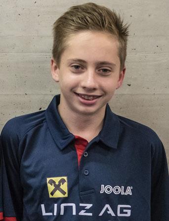 Jan Nemeth - Als Nr. 1 Österreichs lt. Ratingzentral und Nr. 2. NSL Rangliste schaffte er es nicht in den ÖTTV U15 Kader für die EM
