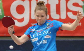 Aurelie Maienburg 1x Gold in der Mannschaft, 2 x Bronze im Einzel und Doppel