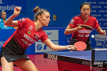 Foto Plohe -U21 Doppel Europameister Karoline Mischek-Tin Tin Ho