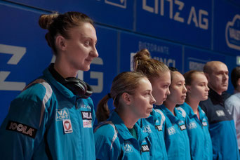 Foto Pillik vl Polcanova, Bergström, Källberg, Soo, Baltushite, Harczi