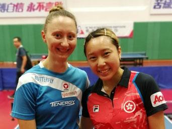 Foto privat -Sofia Polcanova  und Minnie Soo - Bericht 26.08. 2018