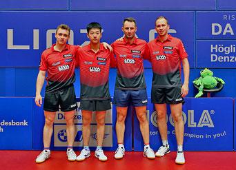 Foto Plohe - SPG LINZ vl. Samuel Kaluiuzny, Liu Zhenlong, Lubomir Pistej, Thomas Grininger