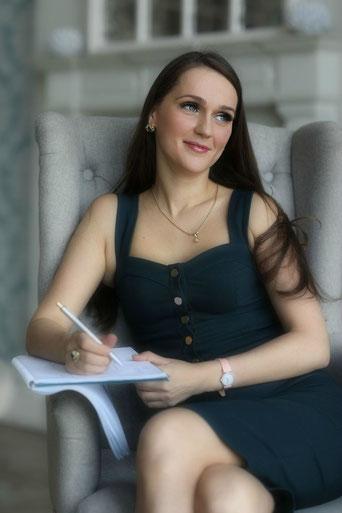 на фото женщина психолог Светлана Гриневич