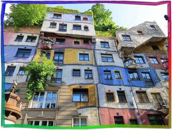 Hundertwasserhaus in Wien - Austria