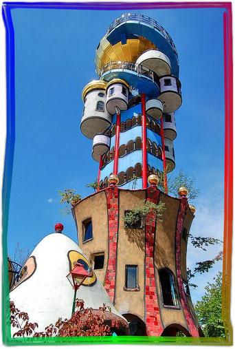 Der Kuchlbauer-Turm in Abendsberg