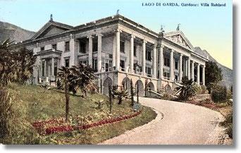 Gardone Gardasee Ansichtskarte Villa Ruhland