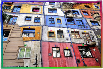 Hundertwasserhaus Wien - Austria