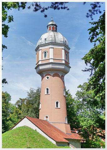 Der Wasserturm das Wahrzeichen von Neu-Ulm