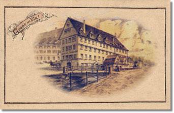 Schapfenmühle zu Ulm um 1928