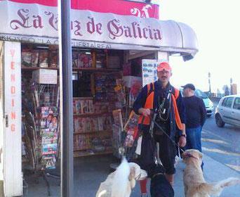 Kiosko de Puerta Real, ya desaparecido... artículo pinchando imangen.