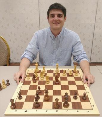 Sandro Wächter Präsident Schachclub Lenzburg