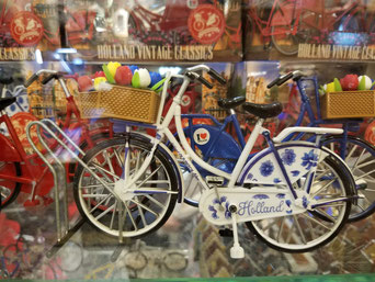 Hollandräder überall - in echt und en miniature