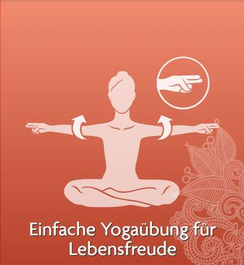 Asanas und Yoga Übungen für Yoga Anfänger und Fortgeschrittene - Einfache Yogaübung für Lebensfreude - yogitea.com