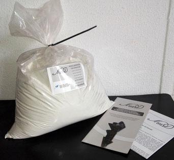 NEU NonaD in weiß, Modelliermasse frostsicher, lufthärtend