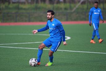 Wiren Bhaskar bleibt auch in der kommenden Saison Baumberger (Foto: Deutzmann/Archiv)