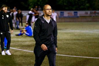 Salah El Halimi nach dem Spiel in Velbert niedergeschlagen (Foto: Deutzmann / Archiv)