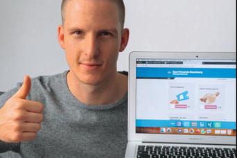 Auch Keeper Sebastian Wickl kaufte Geisterspieltickets (Foto: privat)