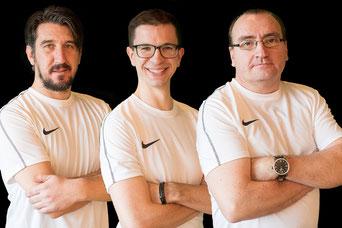 Hayreddin Maslar, Fabian Konstanty und Mathias Brochhausen bleiben eine weitere Saison (Foto: Deutzmann)
