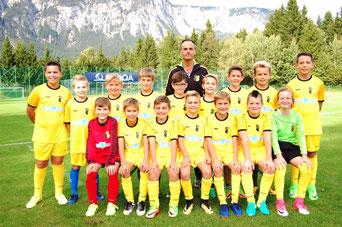 Unsere U11-Vizemeistermannschaft aus der OPO-Gruppe B