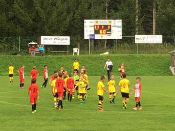 Gratulation unserer U11 zum ersten Sieg!!