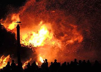 ギリシアの山火事