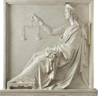 Allegoria della Giustizia di Antonio Canova