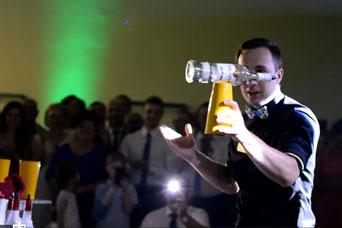 pokaz barmański flair bar-barmani barman ciechocinek