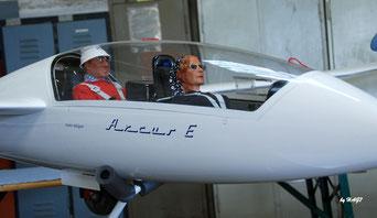 Blick in die Modellflugausstellung