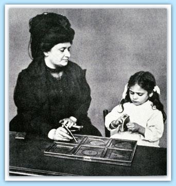 Maria Montessori / Quelle: http://www.montessoricentenary.org (bearbeitet)