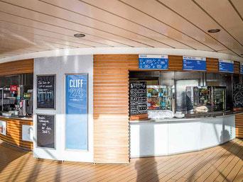 Mein Schiff Herz Cliff 24 - Grill