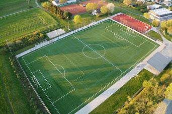Der heutige Spielort in Heiligenroth