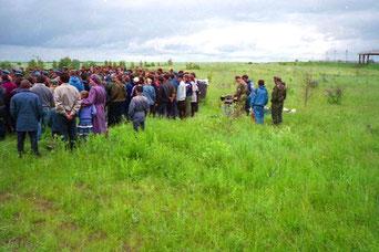Gedenken an die verlustreichen Kämpfe entlang der Rollbahn vor Orscha