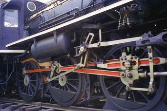 Lokomotive wie in Birma eingesetzt
