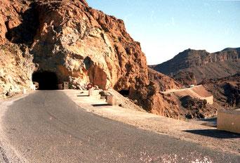 der legendäre Tunnel der Legionäre