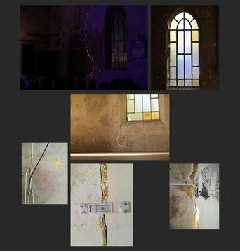 Charles Lemaire, photographe,  #Kintsugi monumental pour le 7ème parcours d'artistes de Limal/Profondsart (septembre-octobre 2018)