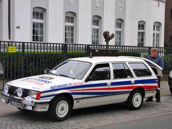 Opel Rekord als Servicefahrzeug (Rothmanns)